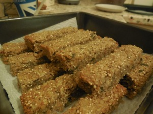 Quinoa and Oat Energy Bars